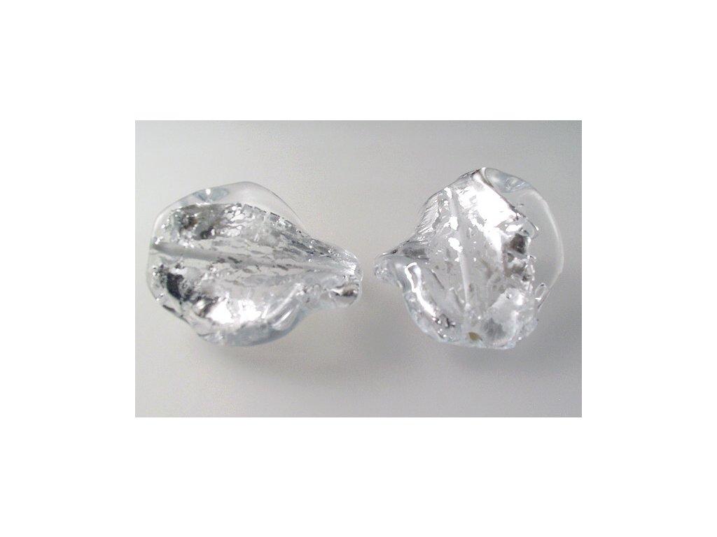 Kroucená perla 30x17 mm 00030