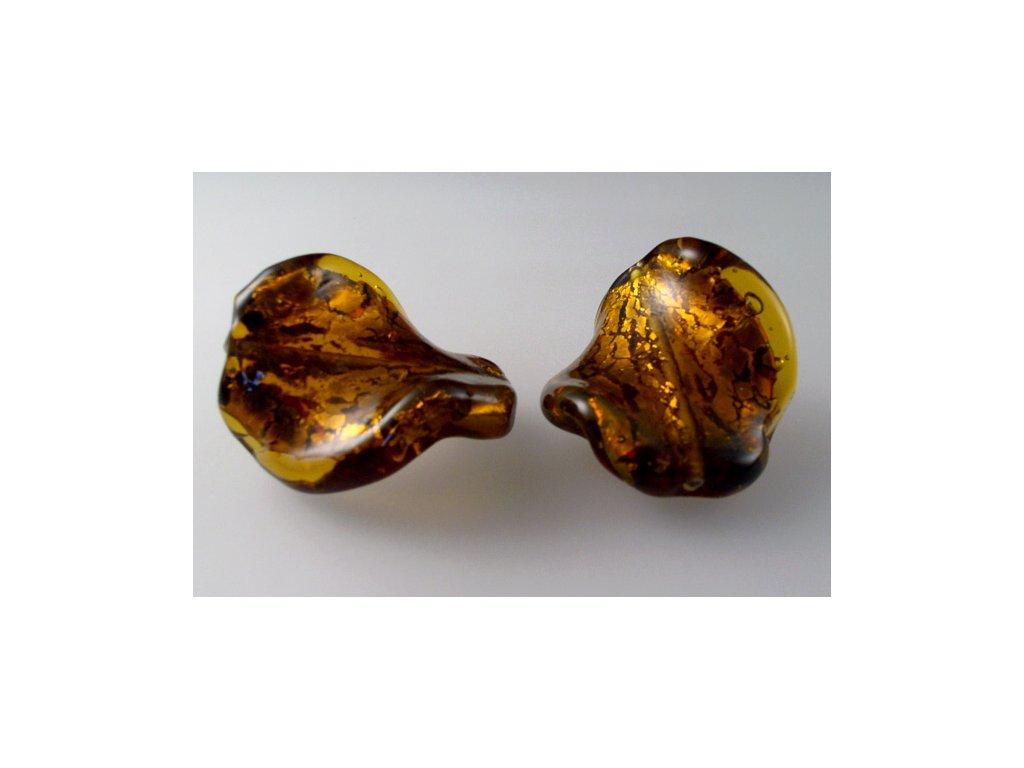 Kroucená perla 30x17 mm 10060