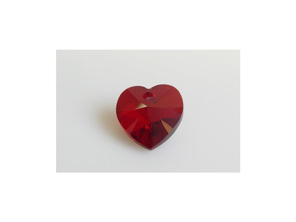 SWAROVSKI ELEMENTS xilion heart 6228 18x17,5 mm siam