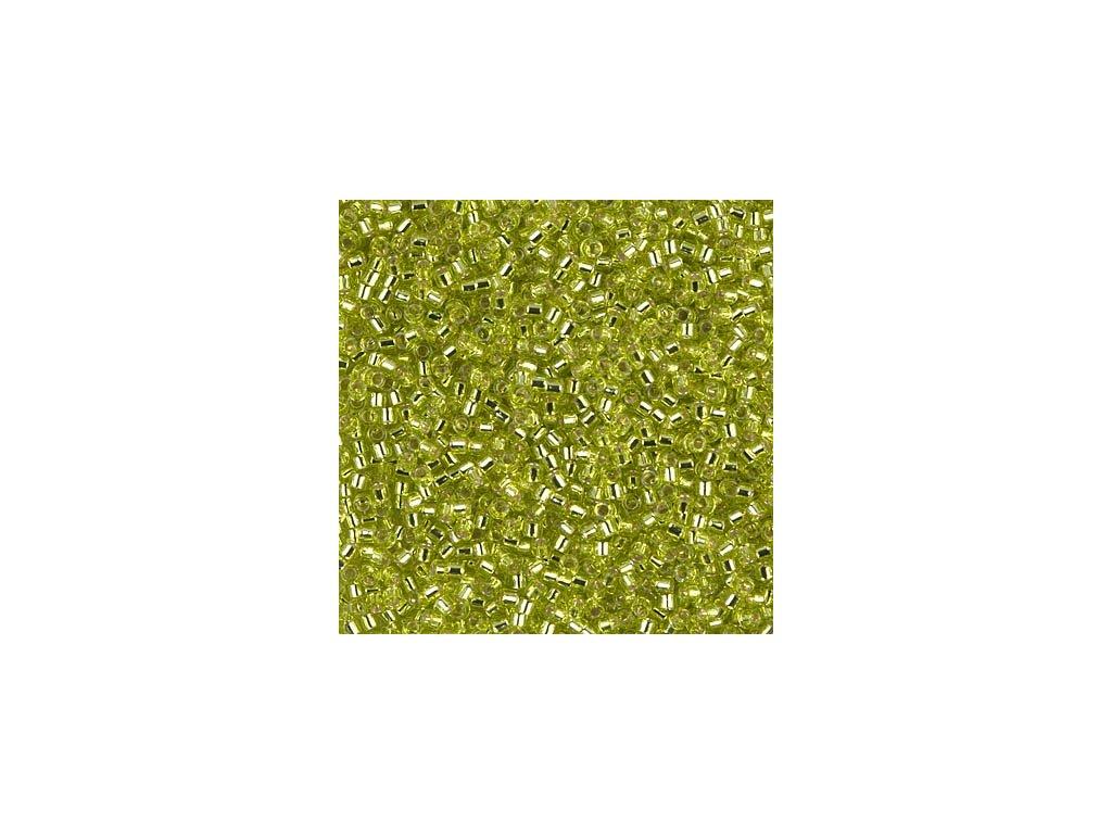 MIYUKI Delica 11/0 Silver Lined Chartreuse