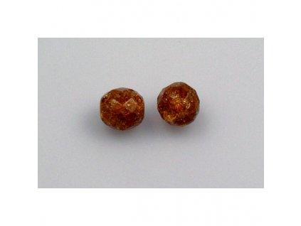 Práskané broušené korálky - 10 mm 10080/85500