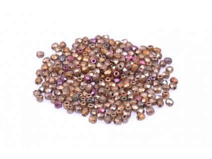 Broušené korálky - ohňovky 2 mm 00030/01610