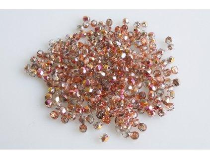 Broušené korálky - ohňovky 2,5 mm 00030/27137