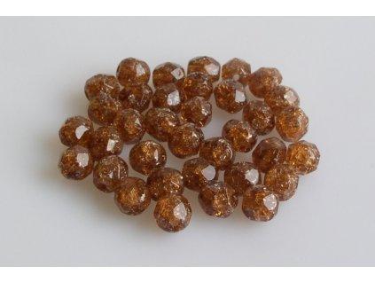 Práskané broušené korálky - 6 mm 10230/85500