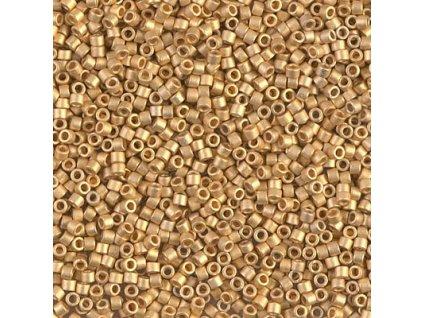 MIYUKI Delica 11/0 24 KT Metall Bright Yellow Gold Matt