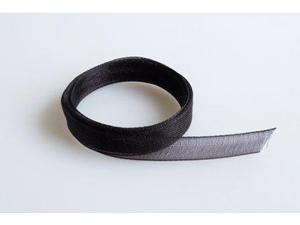 Stuha 0,7mm černá