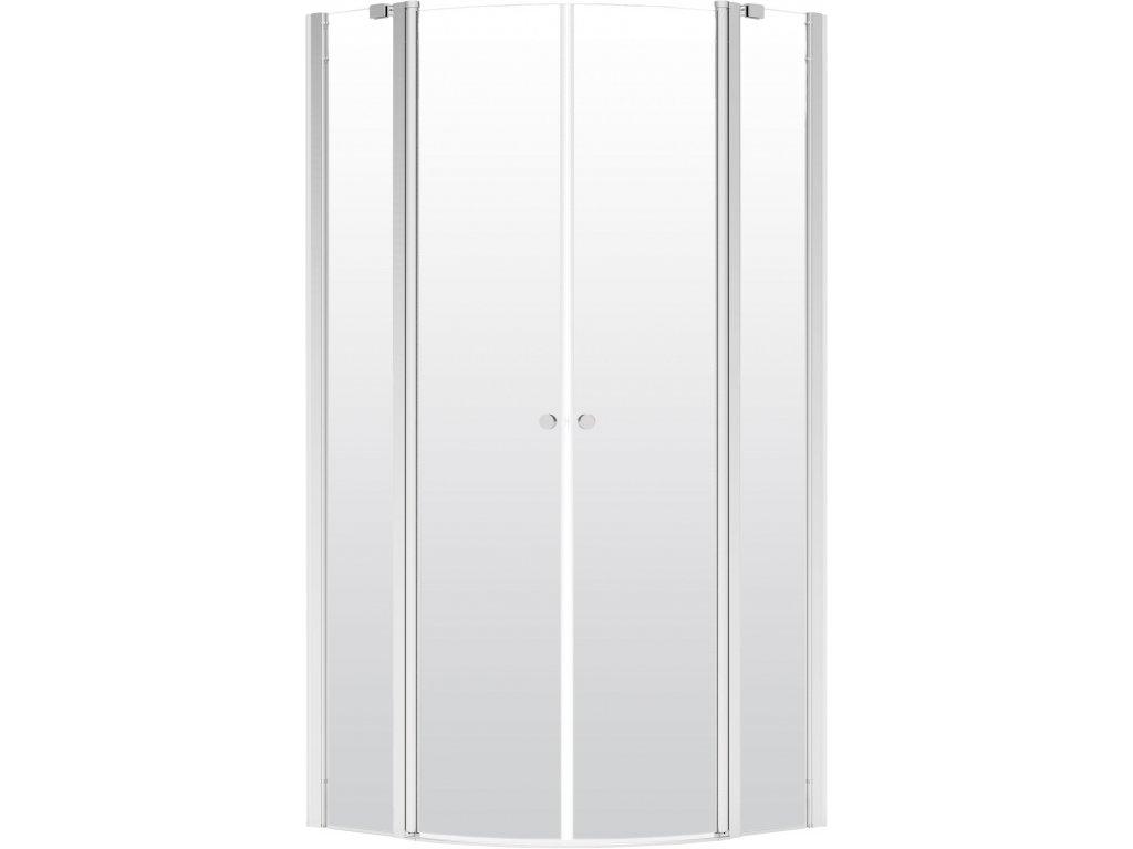 Deante Alpinia Polkruhová sprchovacia kabína 80 cm (Veľkosť 80 cm)