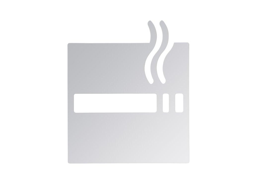 Bemeta Ikona - Fajčenie povolené, lesk (Farba Nerez matný)