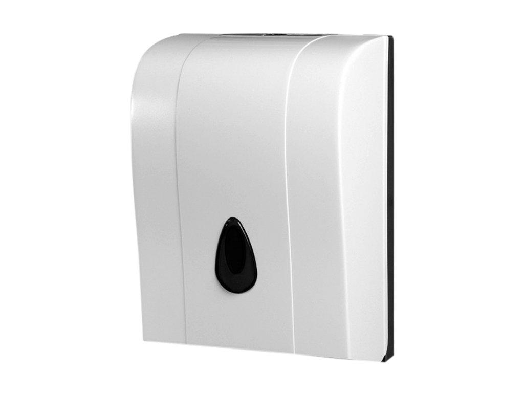 45597 1 bemeta zasobnik na papierove utierky skladane plast biely