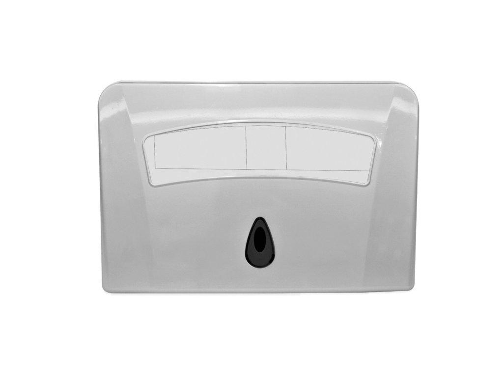 45603 1 bemeta zasobnik na hygienicke potreby wc plast biely