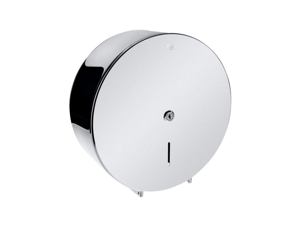 Bemeta Bubnový zásobník na toaletný papier O 260 mm, so zámkom, lesk (Farba Nerez matná)