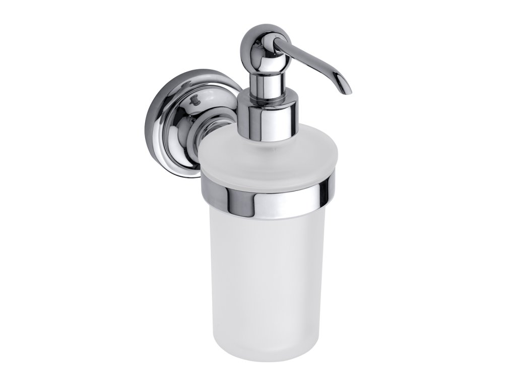 Bemeta RETRO chróm Dávkovač tekutého mydla 230 ml (Farba Chróm)