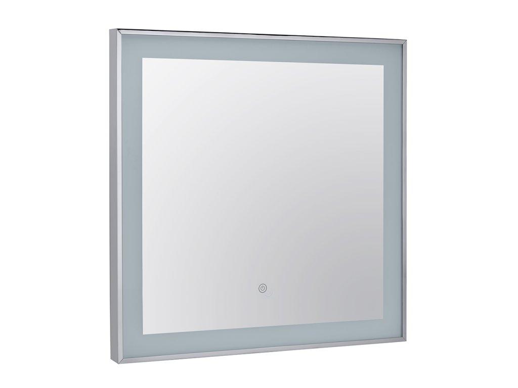 47190 1 bemeta zrkadlo 600x600x30 zaramovane a osvetlene s dotykovym senzorom