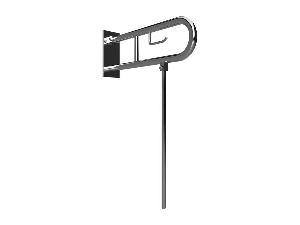 54792 bemeta help sklopny uchyt v tvare u 850 mm brus s krytkou drziakom tp a nohou