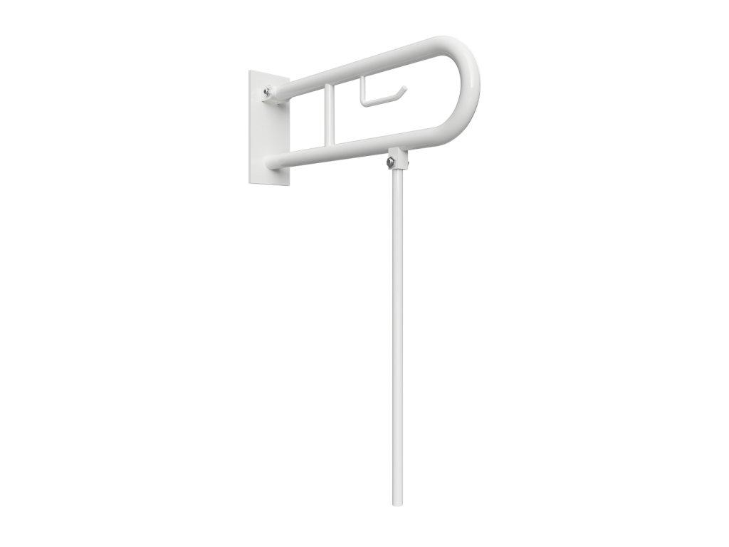 54795 bemeta help sklopny uchyt v tvare u 850 mm biele s krytkou drziakom tp a nohou