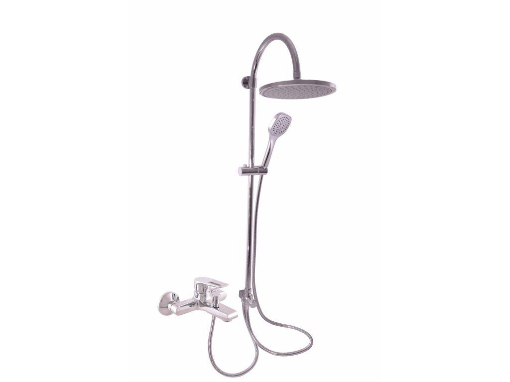 Slezák-Rav Batéria vaňová s hlavovou a ručnou sprchou COLORADO, chróm, 100 mm (Farba Chróm, Veľkosť 150 mm)