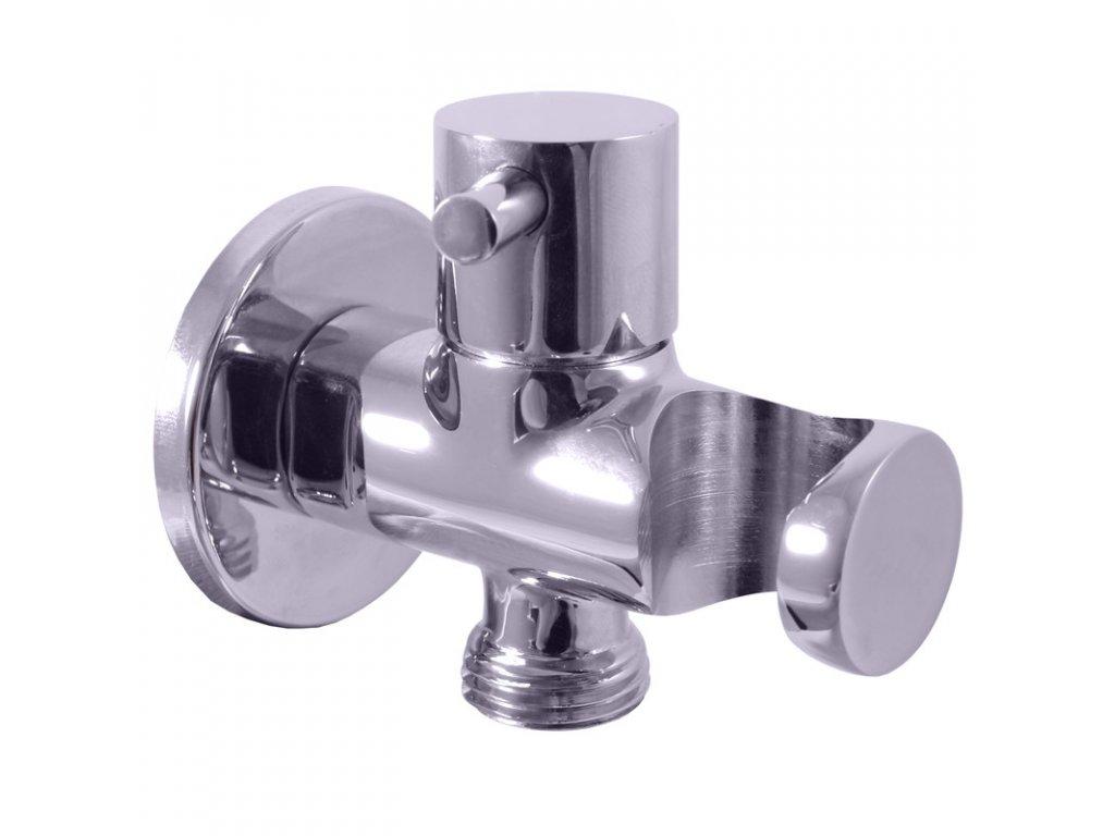 57129 slezak rav drziak sprchy s keramickym ventilom chrom kov