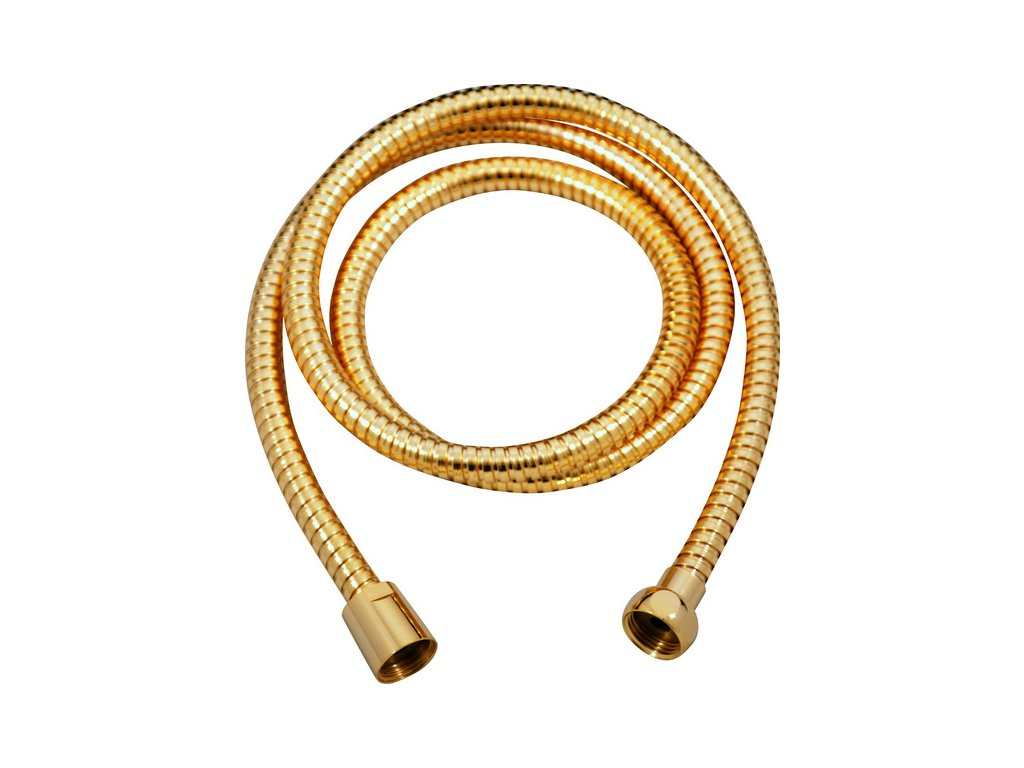 57168 slezak rav sprchova hadica 150 cm zlata kov zlata 150 cm