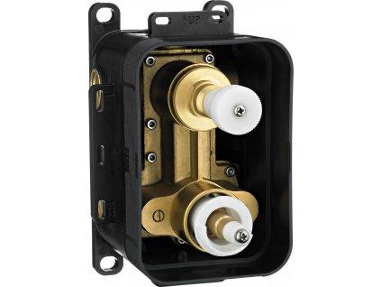 27174 deante box zmiesavaci podomietkovy termostaticky box s prepinacom