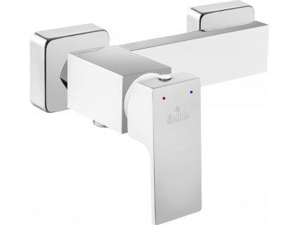 Deante Savory Sprchová batérie bez sprchovej súpravy chróm/biela (Farba Chróm / Biely)