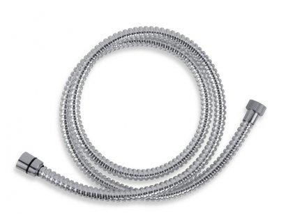 Novaservis Sprchová hadica plastová 150 cm chróm (Veľkosť 200 cm)