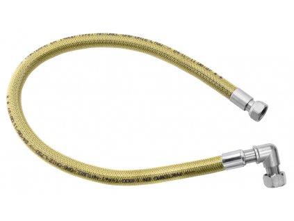 """Novaservis Plynová pripojovacia hadica s kolienkom 1/2"""" MM-0,5 m (Veľkosť 200 cm)"""