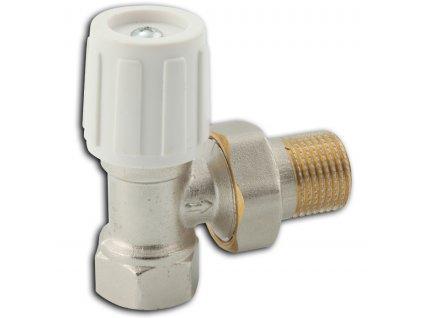 """Novaservis Radiátorový ventil rohový 3/8"""" (Veľkosť 1/2"""")"""
