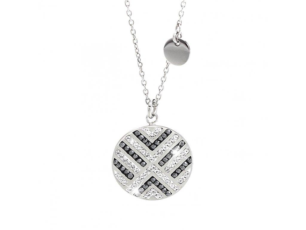 nahrdelnik swarovski crystals mozaika ocel krystaly šperky bizu outlet