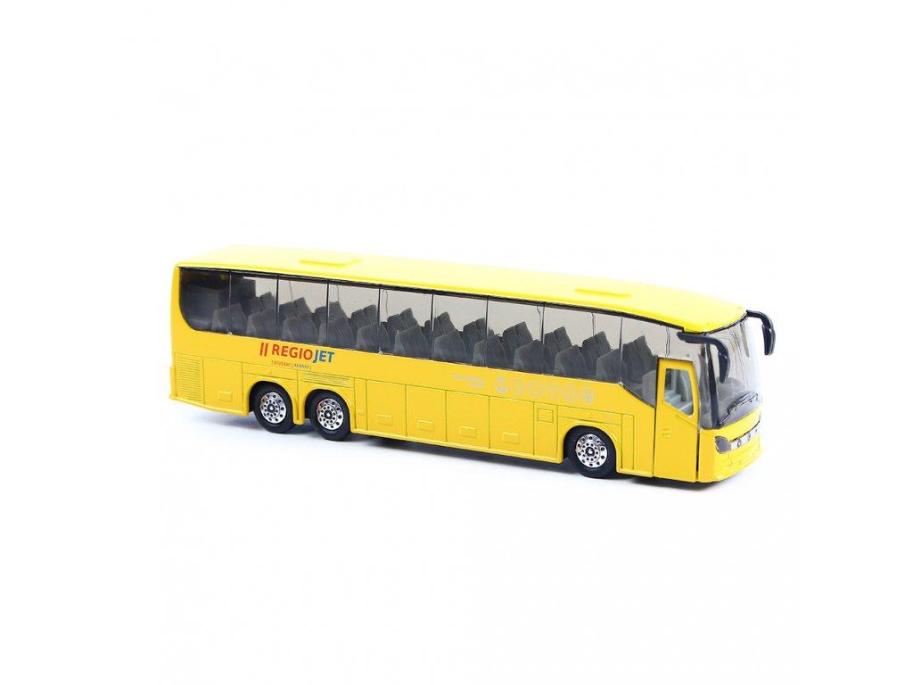 Kovový autobus RegioJet 19 cm