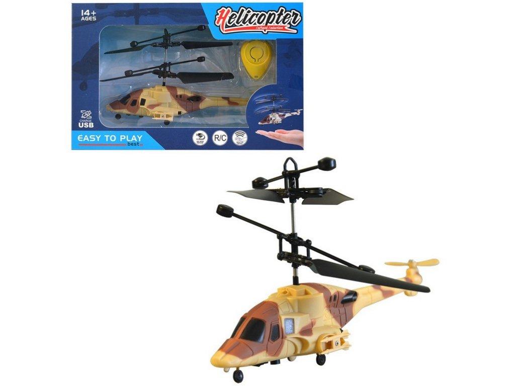 Vrtulník se senzorem, 19cm