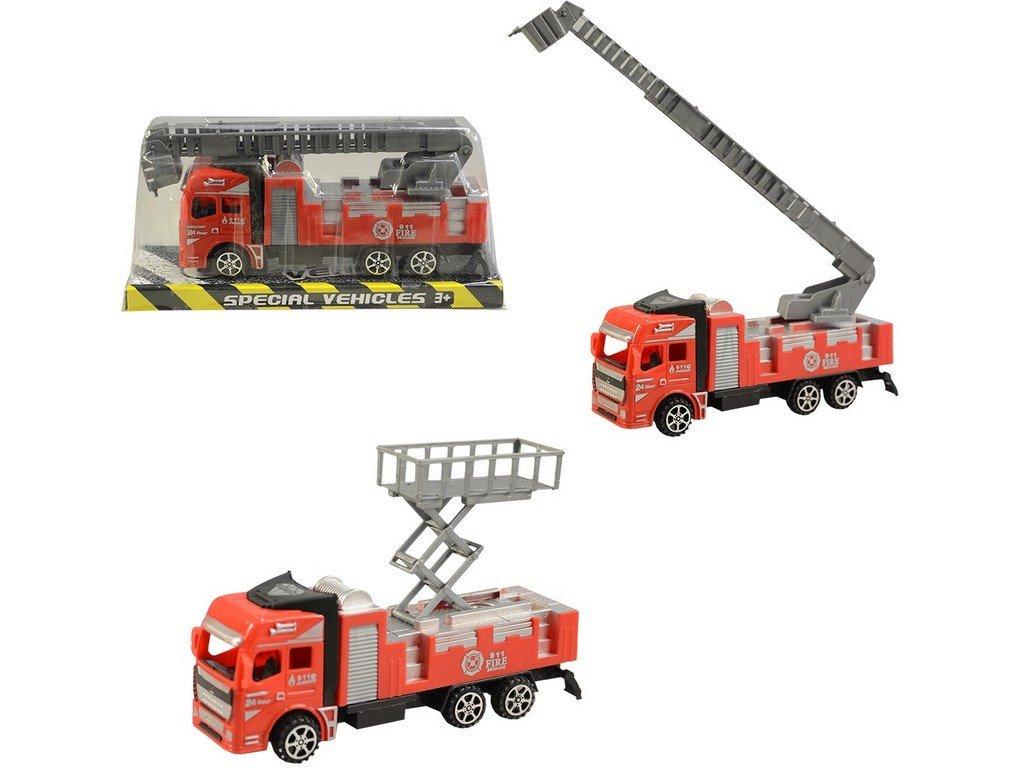 Auto hasičské, na setrvačník