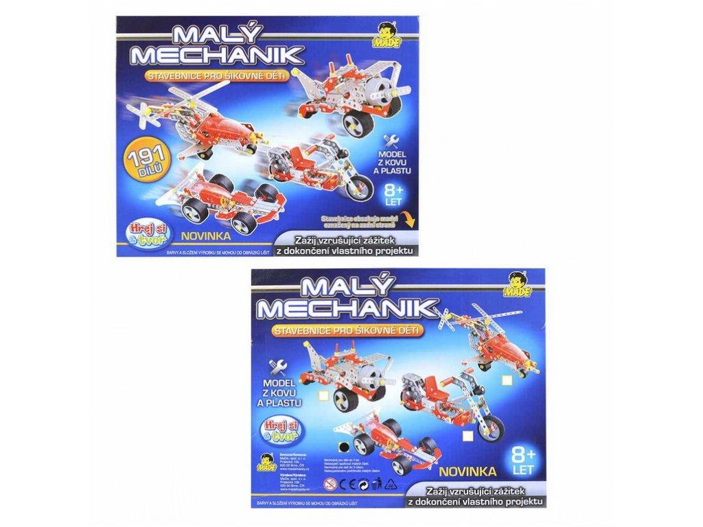 Malý mechanik - 4 druhy, 30 cm