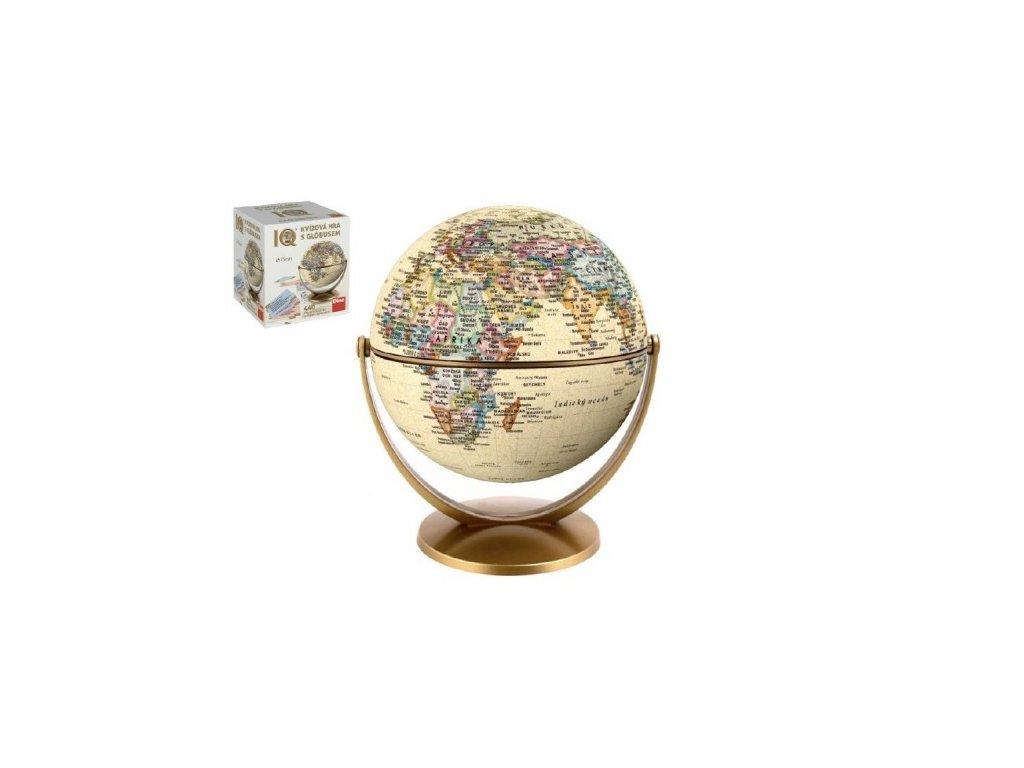 Historický kvíz s globusem Rodinná hra