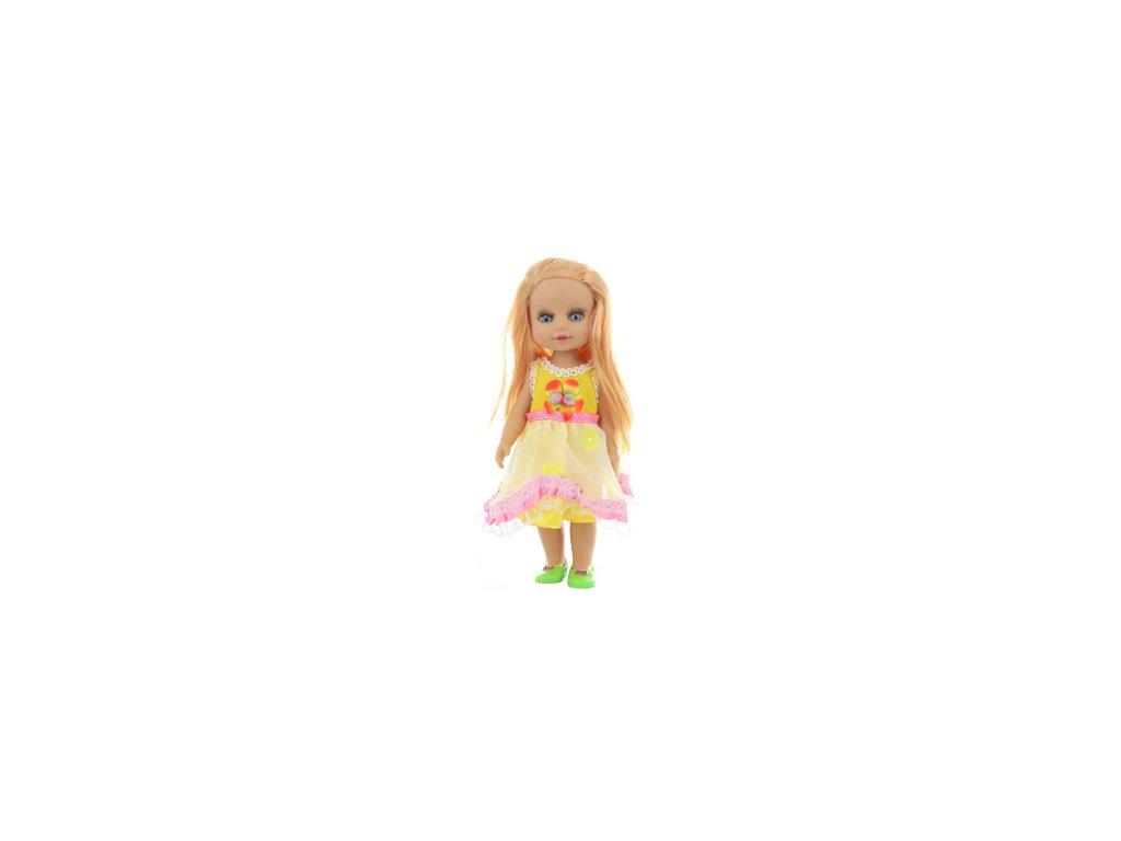 Panenka v žlutých šatech v sáčku