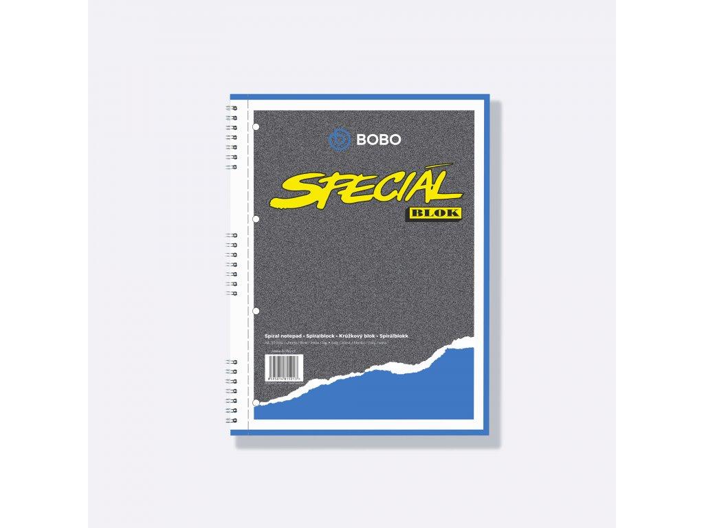 BOBO poznámkový blok Speciál A4 čistý