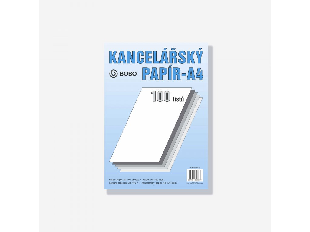 Kancelářský papír A4 100 listů