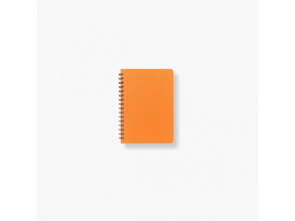 BOBO Plastic blok Neon A6 linkovaný oranžový