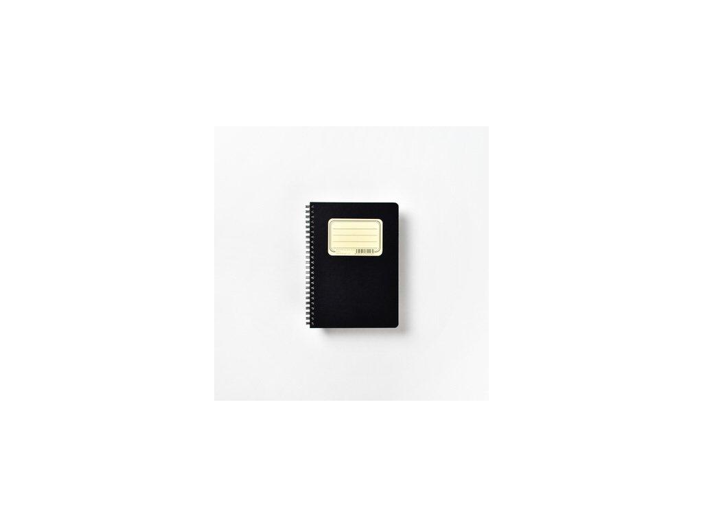 BOBO poznámkový blok Retro A5 čtverečkovaný