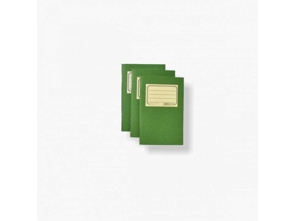 BOBO Passbook Zelenáč (sada 3 ks)