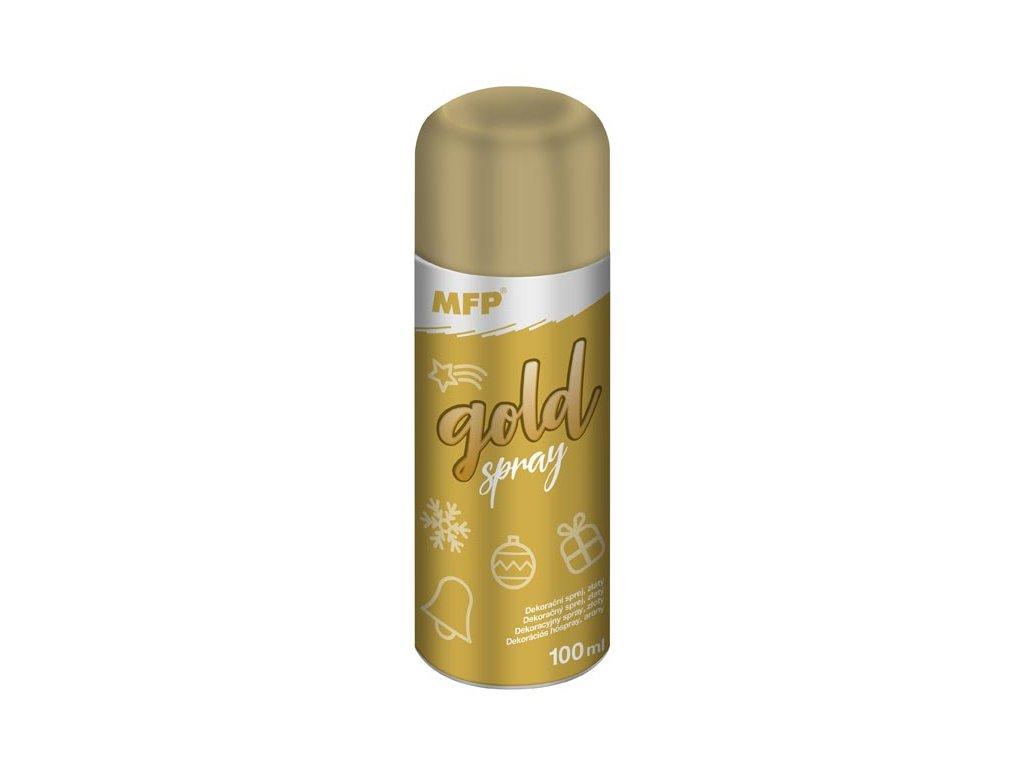 spray zlatý dekorační 100ml 8885890