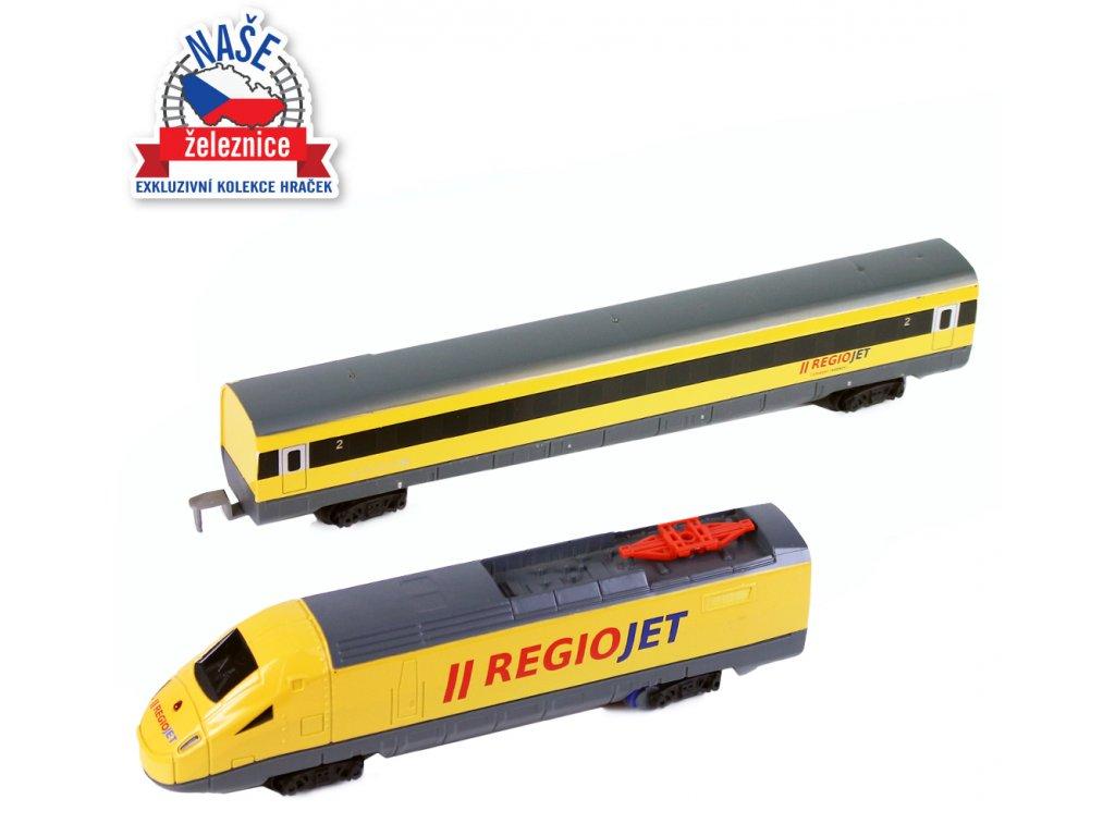 2277 vlak regiojet se zvukem a svetlem