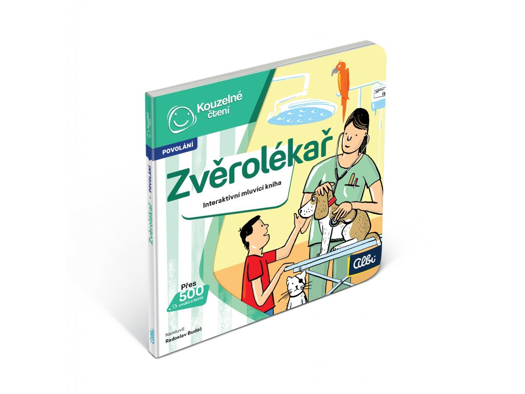 ALBI KČ Minikniha povolání – Zvěrolékař