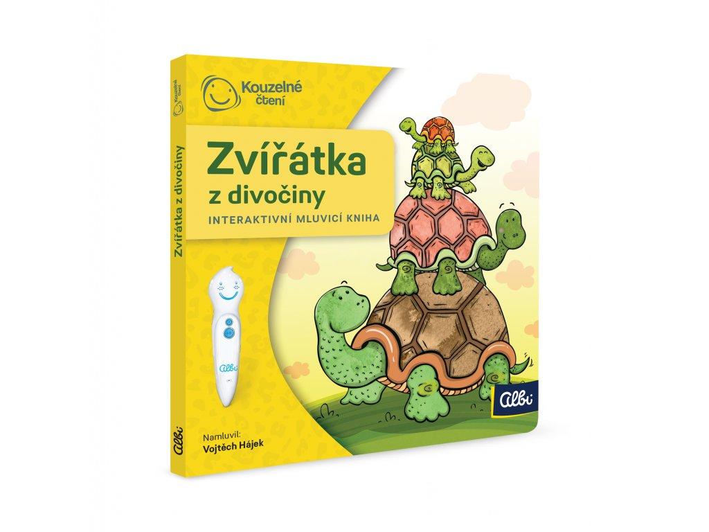 ALBI KČ Minikniha pro nejmenší - Zvířátka z divočiny