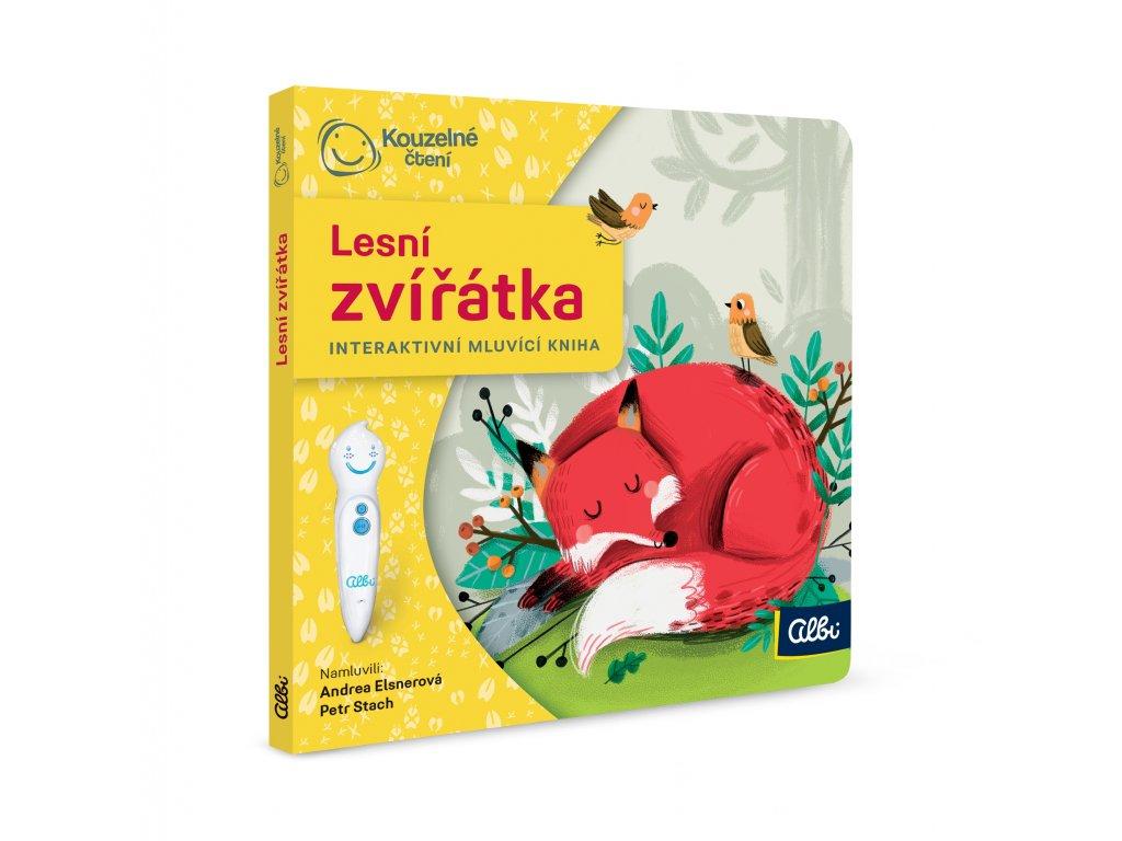 ALBI KČ Minikniha pro nejmenší - Lesní zvířátka