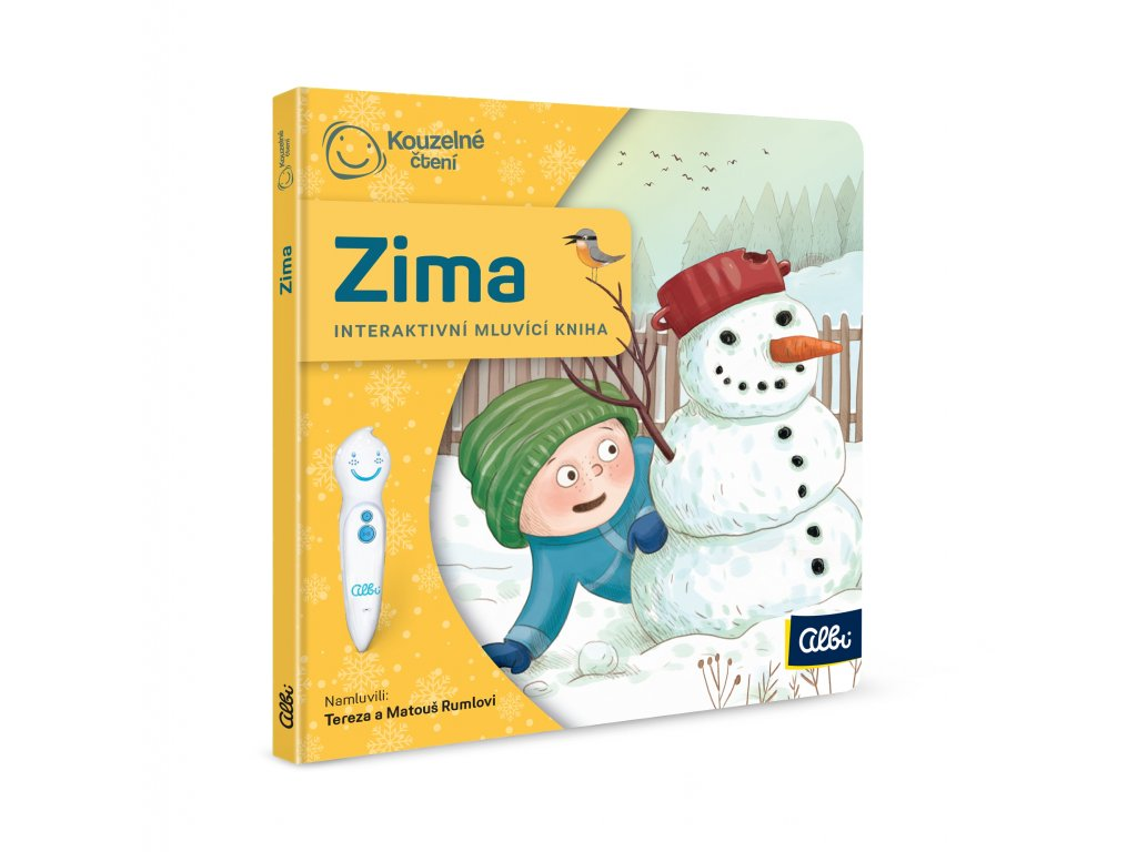 ALBI Minikniha pro nejmenší - Zima
