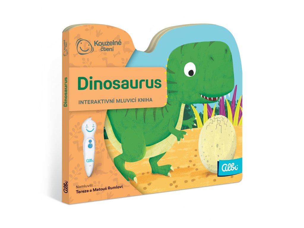 ALBI KČ Minikniha s výsekem - Dinosaurus
