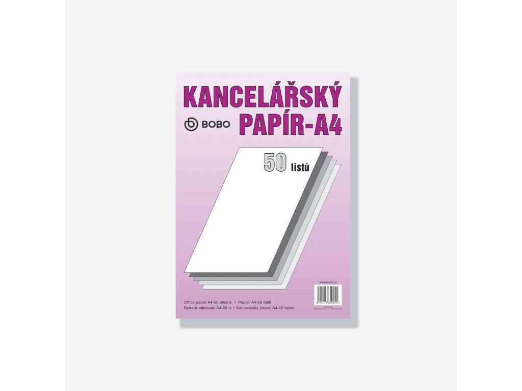 Kancelářský papír A4 50 listů