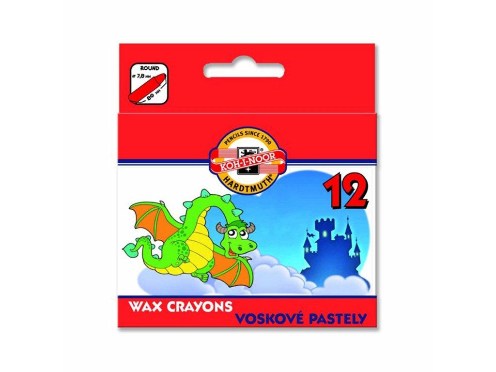 Koh-i-noor voskovky 8232 WAX PASTEL 12ks