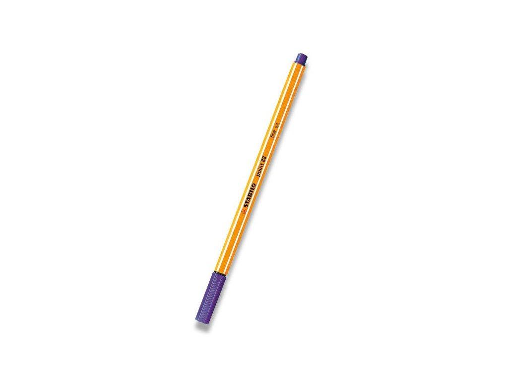 Liner Stabilo Point 88 fialový