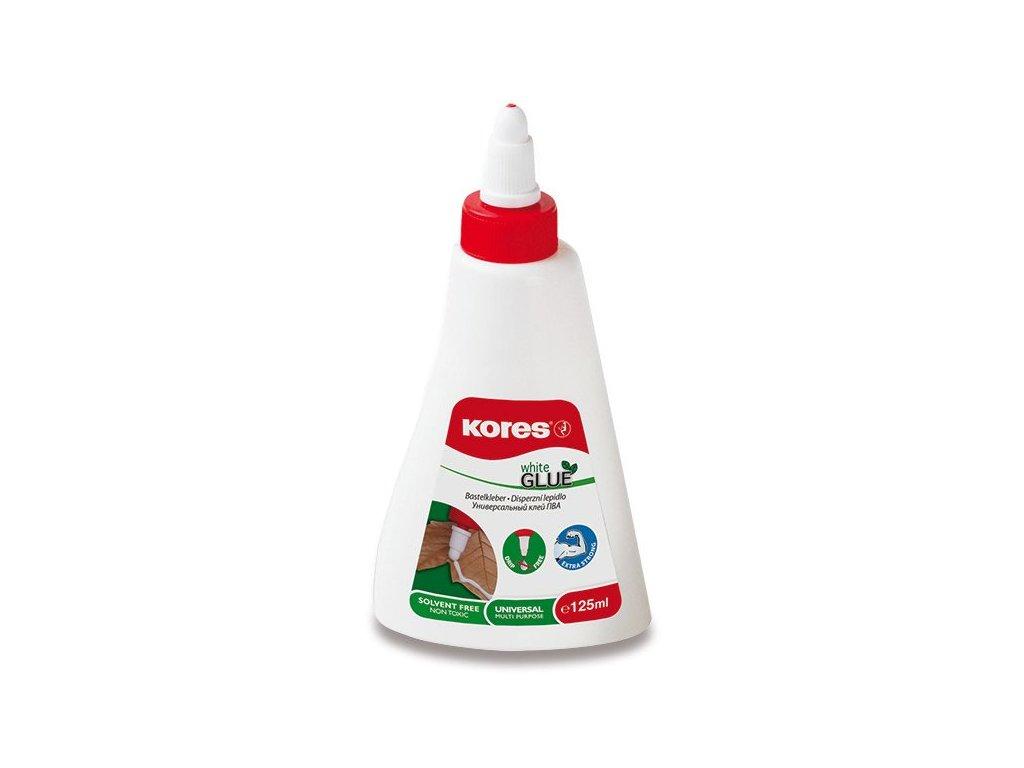 Tekuté lepidlo Kores White glue 125 ml